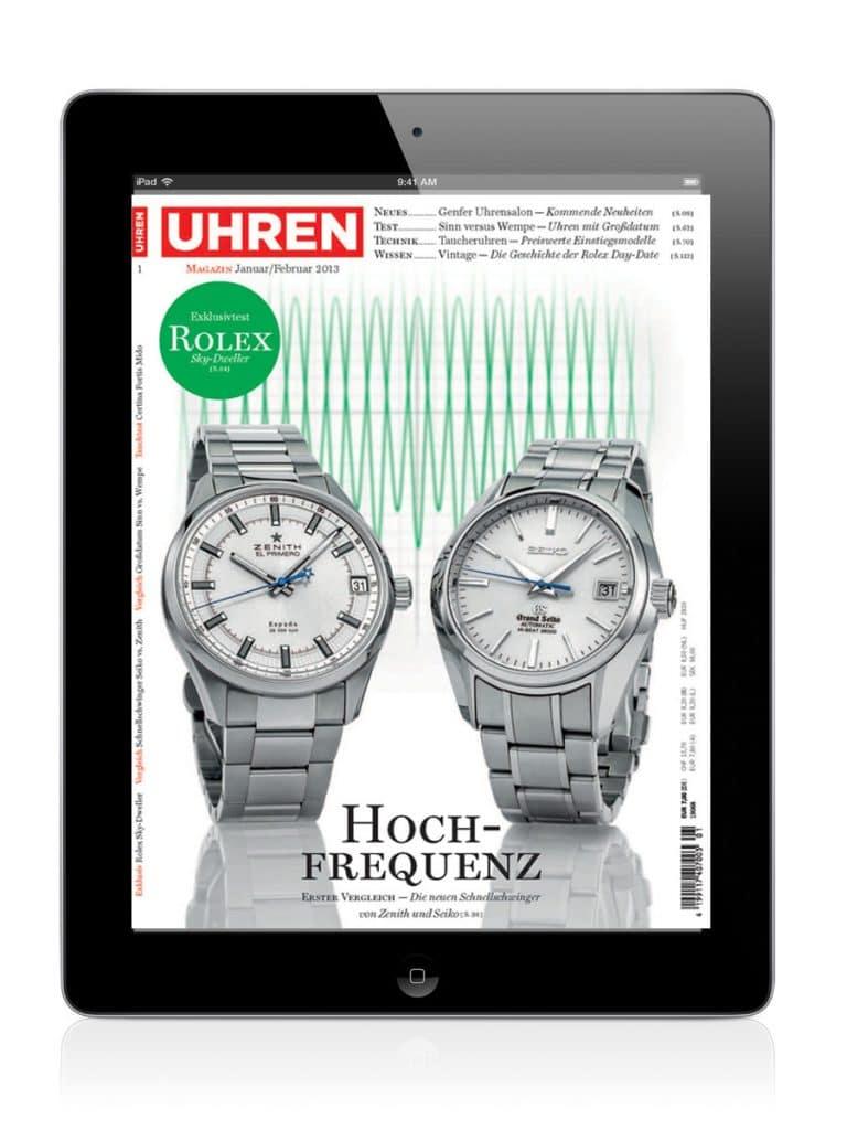 iPad Titel Uhren