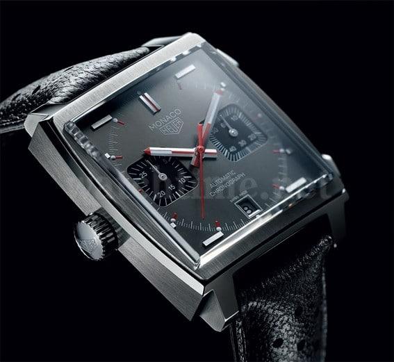 Ganz an der Geschichte orientiert: der Monaco Vintage Chronograph von TAG Heuer