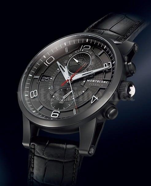 Stopperpaket: der TimeWalker TwinFly Chronograph von Montblanc