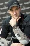 Der griechische Motorradfahrer Vasilis Orfanos trägt eine Master Compressor Extreme World Chronograph von Jaeger-LeCoultre