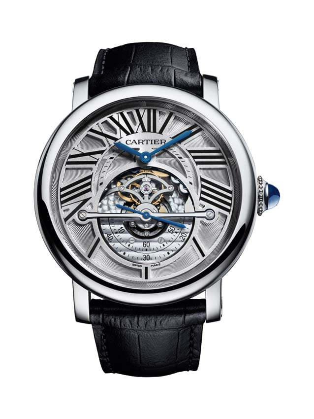 Neues aus dem Hause Cartier: die Rotonde de Cartier Astroregulator