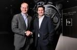 Martin Bachmann, CEO Maurice Lacroix und Michiel Munneke, Managing Director von World Press Photo