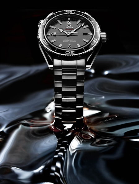 Die Omega Seamaster Planet Ocean Liquidmetal Limited Edition