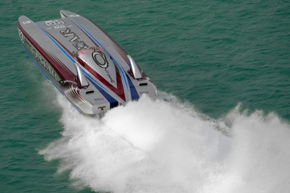 Rasant: Die Offshore Powerboat Rennserie Class 1