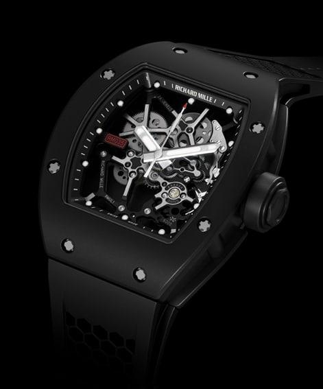 Neue Tennis-Uhr: die RM 035 Rafael Nadal von Richard Mille
