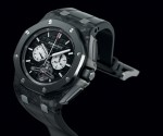 Der Royal Oak Offshore Selfwinding Tourbillon Chronograph der Manufaktur Audemars Piguet (209.800 Euro)