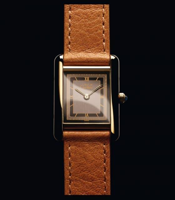 Die Cartier Tank Must de Cartier von 1982