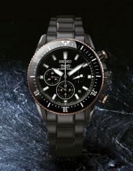 Der neue Seiko Ananta Automatik-Taucher-Chronograph SRQ013