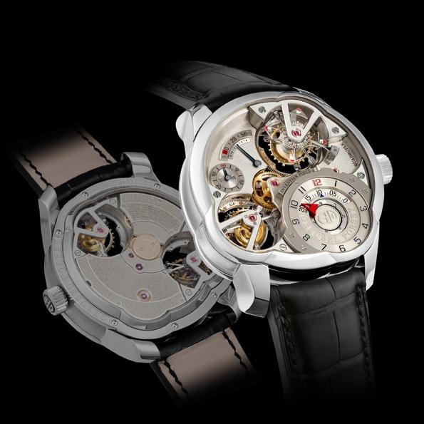 Die Invention Piece 2 von Greubel & Forsey mit zwei Doppeltourbillons (750.000 Euro)