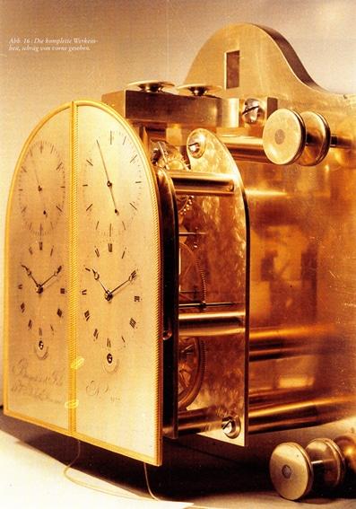 Werkeinheit des Doppelregulators, der 1817 für Ludwig XVIII. angefertigt wurde