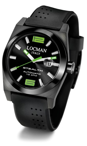 Trendig: die Stealth Total Black von Locman