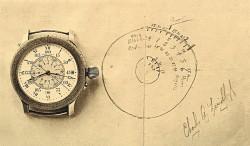 Die »Lindbergh«-Uhr von Longines (1932) hilft Fliegern bei der Navigation. Sie ermöglicht die schnelle Längengradbestimmung, da sie den Stundenwinkel von Greenwich anzeigt