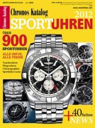 Ab 22. Juli im Handel: Der Chronos Sportuhren-Katalog