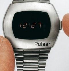 Die Pulsar von Hamilton war die erste elektronische Digitaluhr