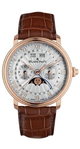 Der Villeret Chronographe Monopoussoir von Blancpain