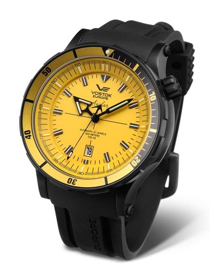 Leuchtend gelb: die Anchar von Vostok Europe