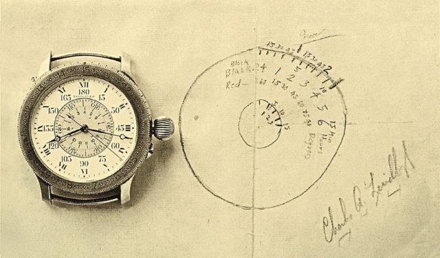 Die Lindbergh-Stundenwinkel-Uhr von Longines ermöglichte eine schnelle Längengradbestimmung für die Navigation