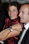 Preisträgerin Marie-Jeanette Ferch mit Ehemann Heino Ferch