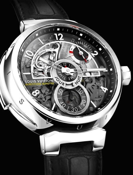 louis vuitton tambour minute repeater. Black Bedroom Furniture Sets. Home Design Ideas