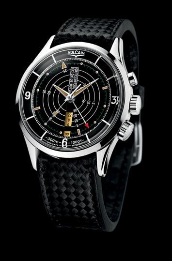 Taucherwecker von Vulcain: The Nautical Heritage Limited Edition