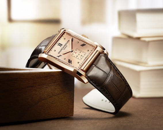 Highlight der aktuellen Hampton-Kollektion von Baume & Mercier