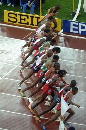 Seiko ist offizieller Zeitnehmer der IAAF