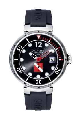 Abtauchen: mit der Tambour Diving II von Louis Vuitton