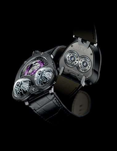 Hightech-Amphibie: die Horological Machine No3 Frog Zr von MB&F