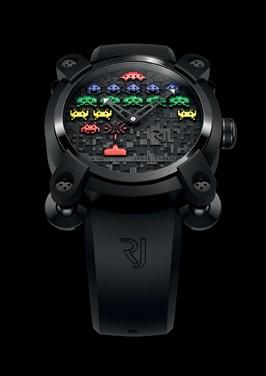 Benannt nach einem Arcade-Spiel: die Space Invaders von Romain Jerome
