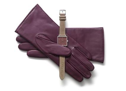 Uhernmodell Tetra+ Mäusedorn mit passenden Handschuhen
