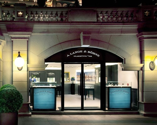 Die neue Boutique von A. Lange & Söhne in Hongkong