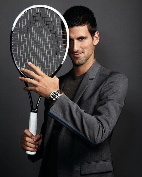 Novak Djokovic ist neuer Botschafter von Audemars Piguet
