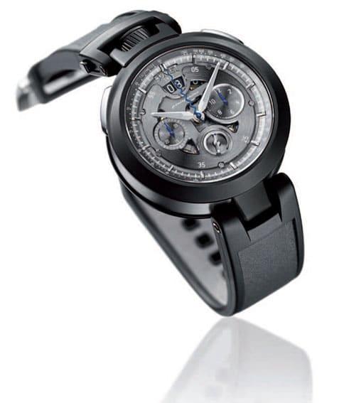 In Zusammenarbeit mit Pininfarina entstanden: der Chronograph Cambiano Edition 2011 von Bovet