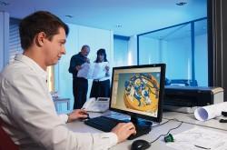 Traditionelle Technik, modern konstruiert: Im CAD-Programm sind alle Einzelteile gespeichert