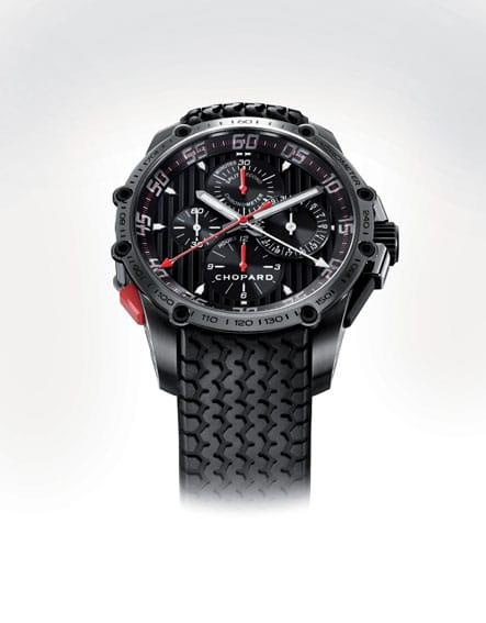 Im Rennagen-Look: der Classic Racing Superfast Split Second Chronograph von Chopard