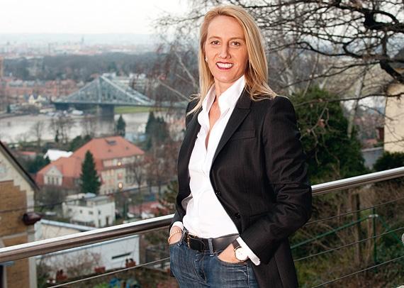 Christine Hutter: Die Geschäftsführerin ist stolz auf ein starkes Team und schaut optimistisch in die Zukunft.