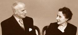 Das Gründer-Ehepaar: Eugène Blum und seine Frau Alice