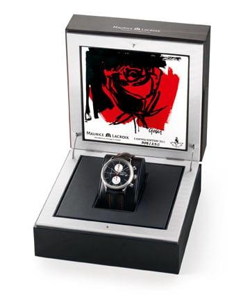 Die Les Classique Limited Edition 2011 wird mit einer Künstlerfliese ausgeliefert