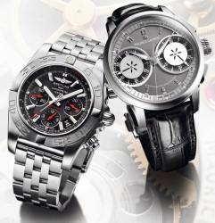 Breitling Chronomat 01 und Maurice Lacroix Masterpiece Le Chronographe
