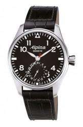 Bei der Alpina Startimer Pilot wird das Datum auf einem Hilfszifferblatt angezeigt