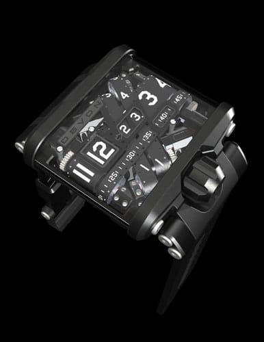 Das Uhrenmodell Tread 1 Version E von Devon
