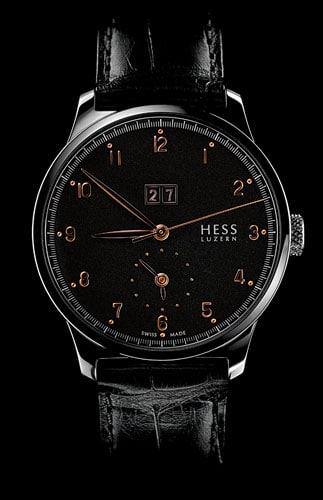 Mit zweiter Zeitzone: die TWO.1 von Hess Uhren