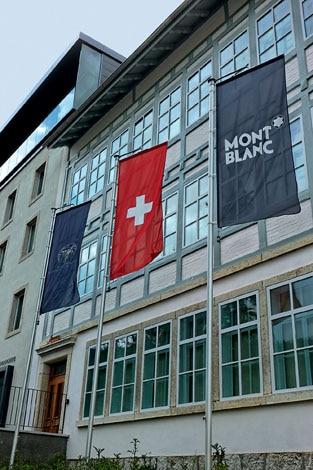 Die Montblanc-Manufaktur in Villeret