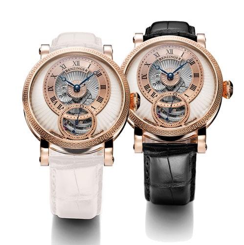 Die Polaris Black & White der Uhrenschmiede Grieb & Benzinger