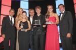 Die Preisträger und Laudatoren des 5. Audi Generation Awards 2011