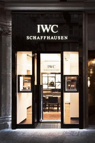 Am Graben 12 in Wien eröffnete die neue IWC-Boutique