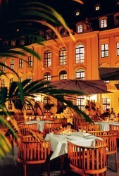 Innenhof Taschenbergpalais