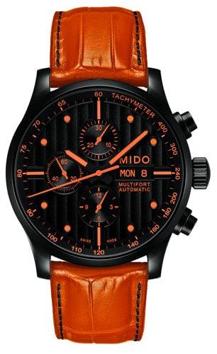 Sportlich in Schwarz und Orange: der Multifort Chrono Special Edition II
