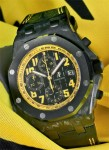 Der Audemars Piguet Chronograph Royal Oak Offshore Karbon im Uhren-Test