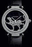 Mit Raubtier-Rotor: das Uhrenmodell Masse Secrète von Cartier